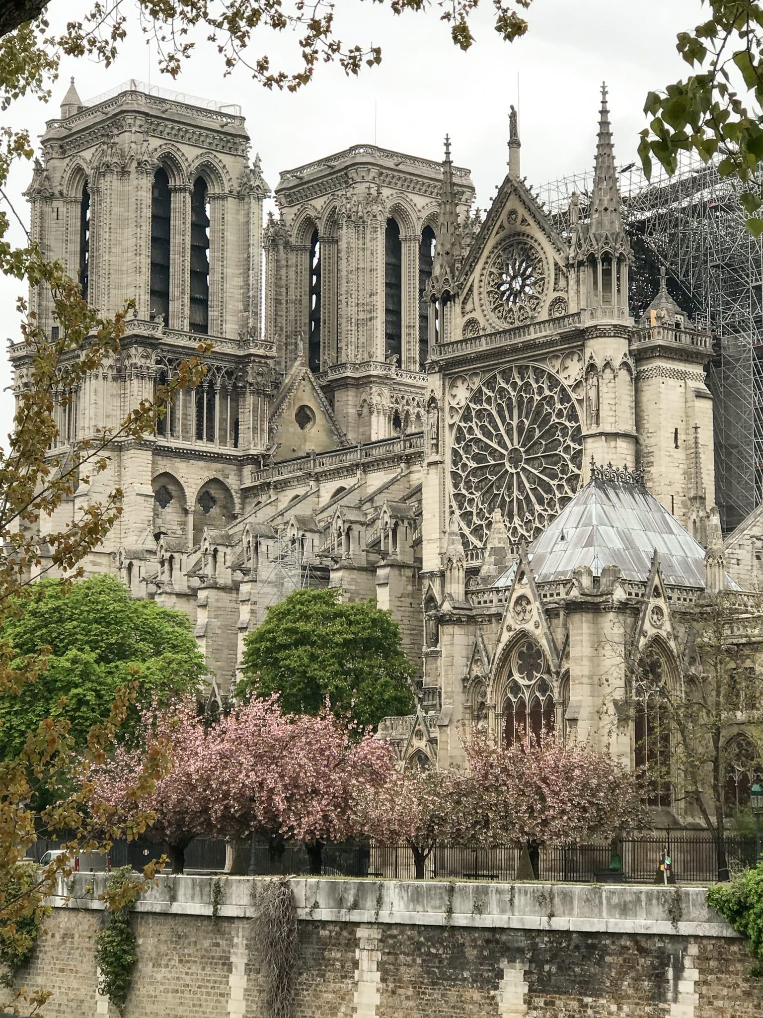 4 days in Paris - Notre Dame after the fire, Paris