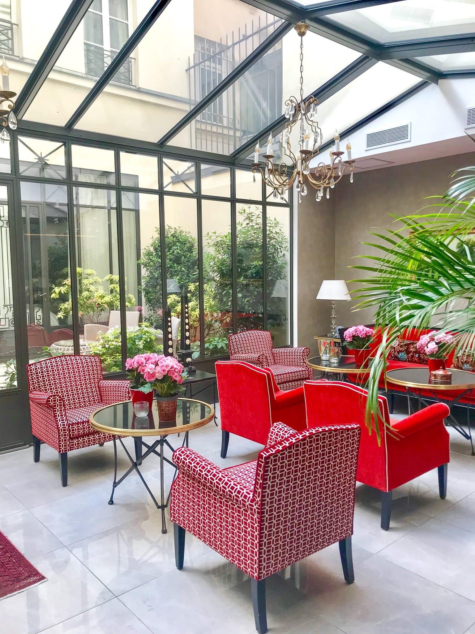 My Home in Paris interior
