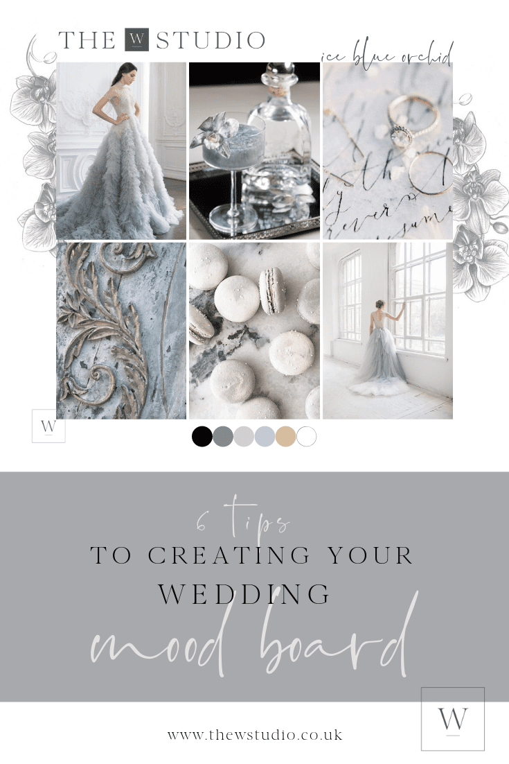 6 tips to creating your wedding mood board