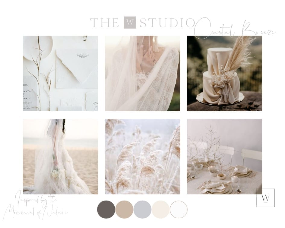 Coastal Breeze Mood board