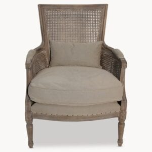 The Marlborough Armchair for wedding and event rentals