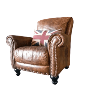 Leather Club Chair for rent