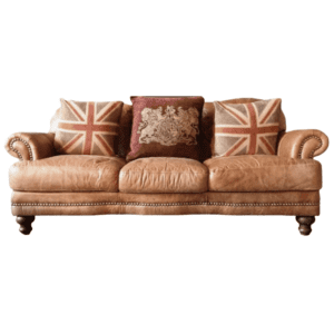 3 Seater Leather Chesterfield Club Sofa for rent