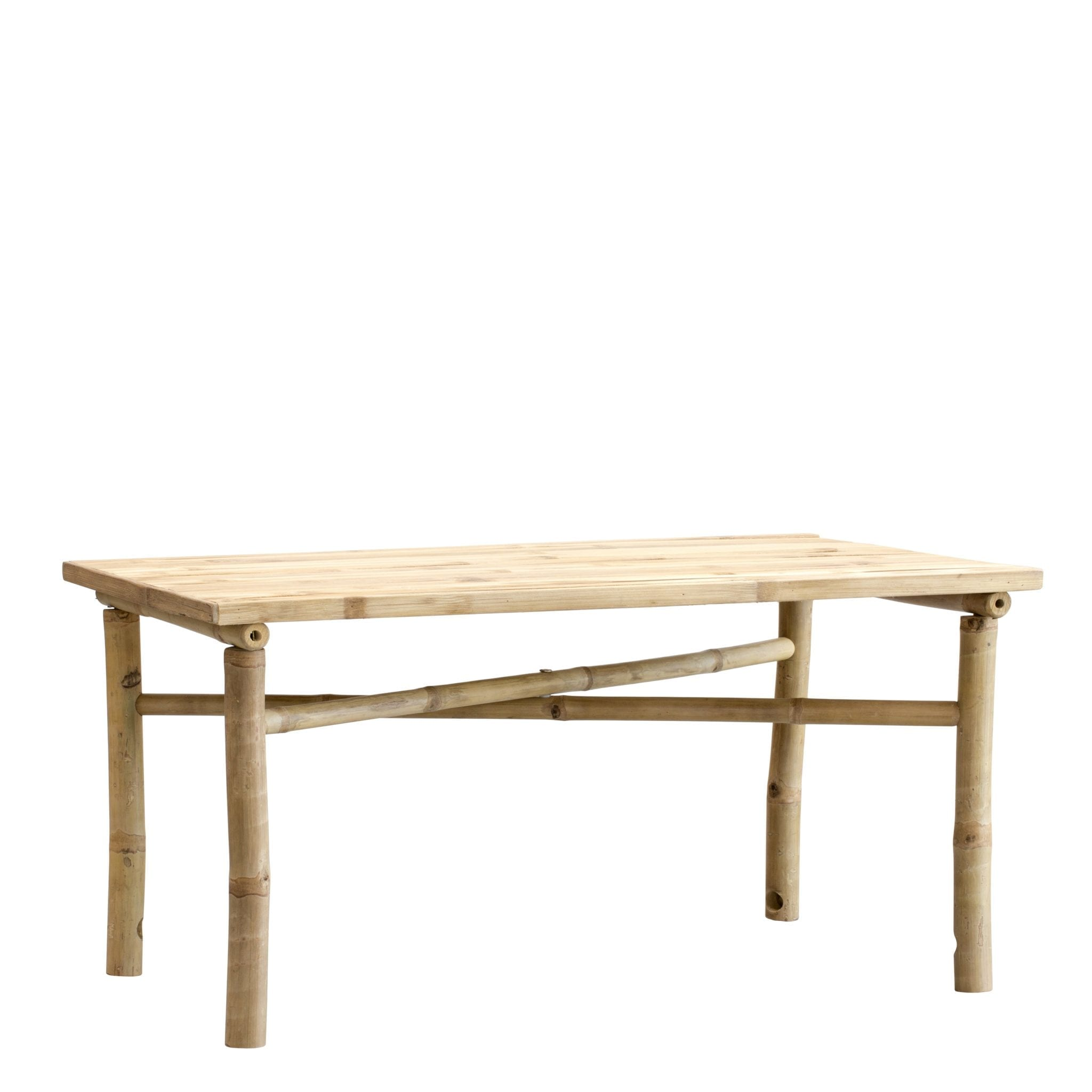 Bamboo coffee table
