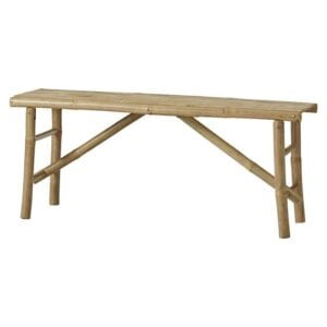 Bamboo bench