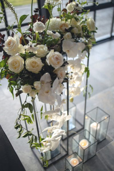 Floral display wedding