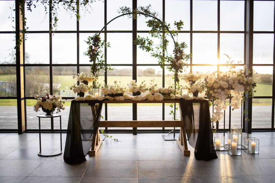 Bridal top table
