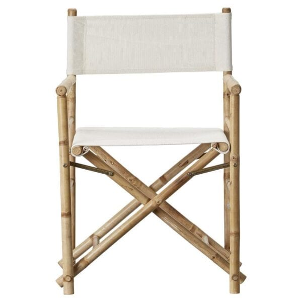 Bamboo directors chair