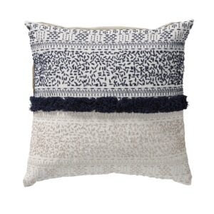 Ellie cushion in blue for rent for weddings and events