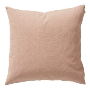 Esme Cushion in Rose Dust for hire to weddings and events