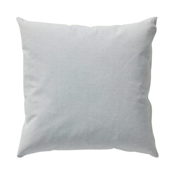 Esme cushion in air blue for hire to weddings and events