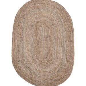 Large Oval Rug to hire for events