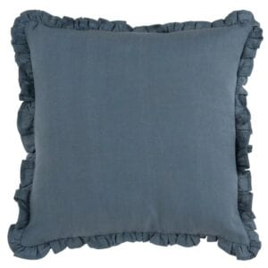 Ruffle Cushion to hire for weddings and events