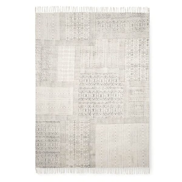 Ava Cotton Rug to hire for weddings and events