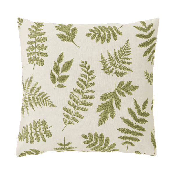 Botanical Cushion for hire to weddings