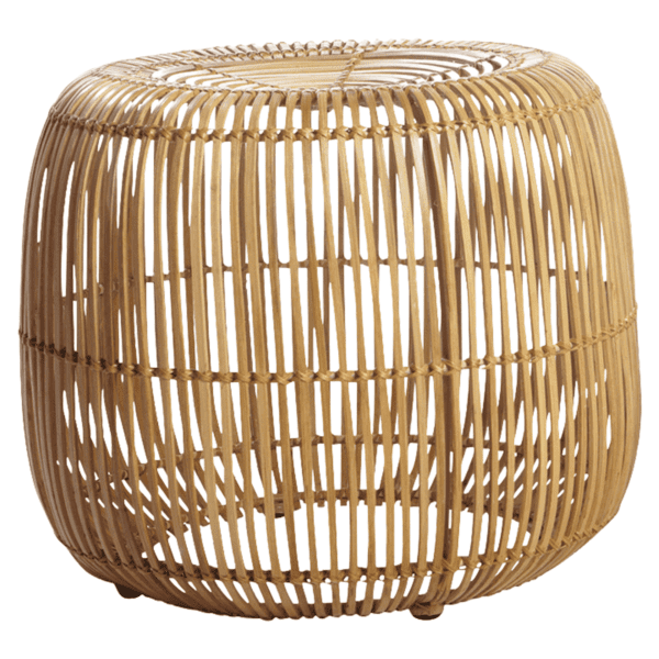 Rattan stool for hire to weddings and events