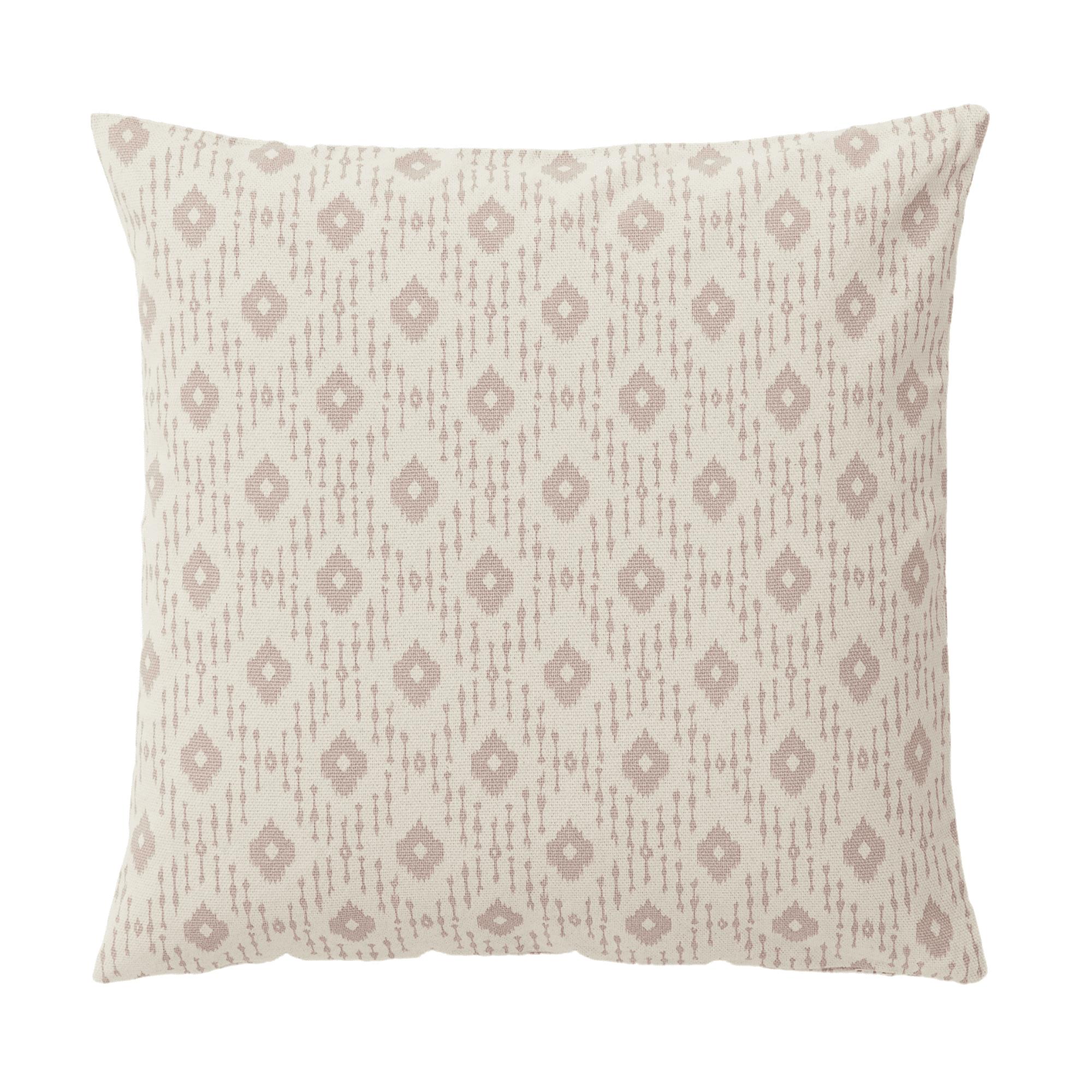 Amelia block print cushion