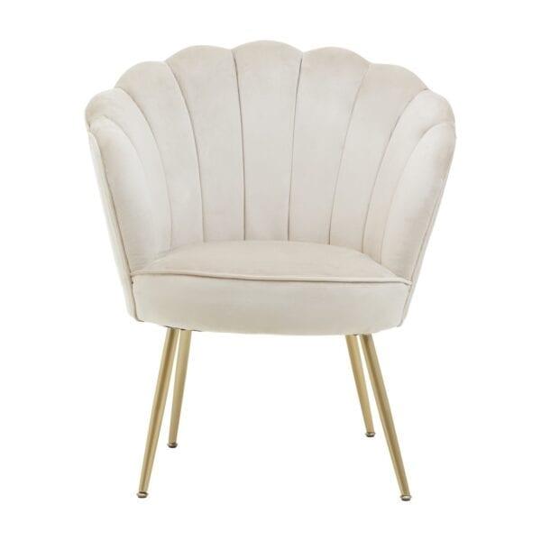 Scallop Mink chair